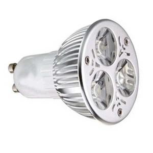 Bombilla de led GU10, 3W, luz cálida,60º